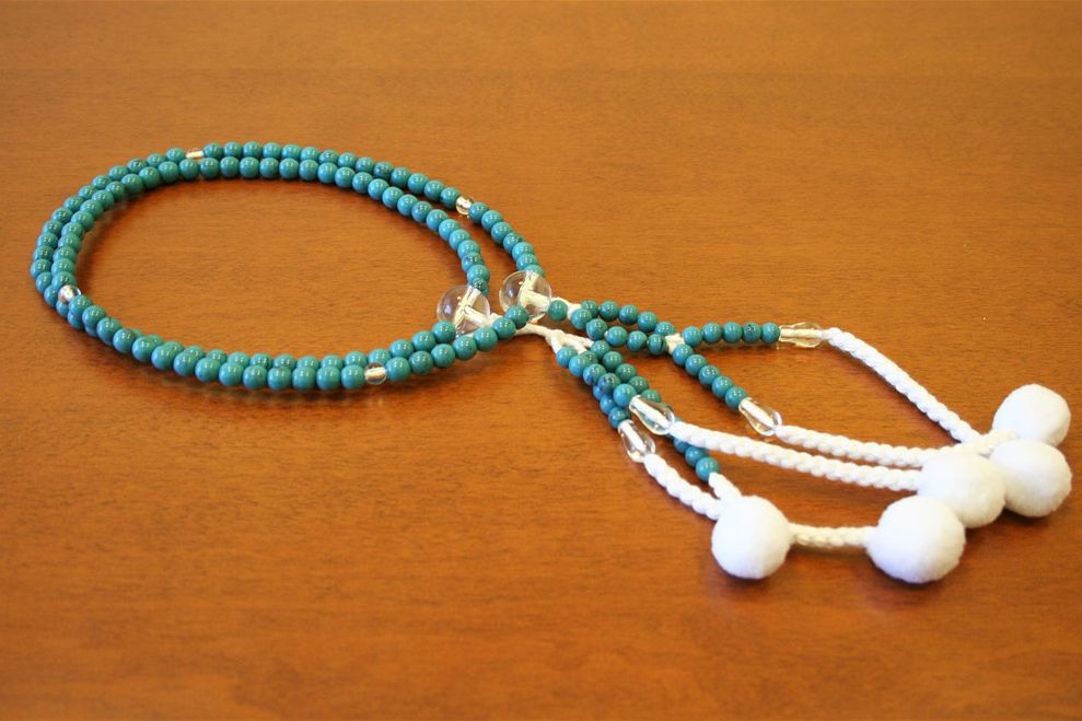 SGI XL Plastic Turque Beads