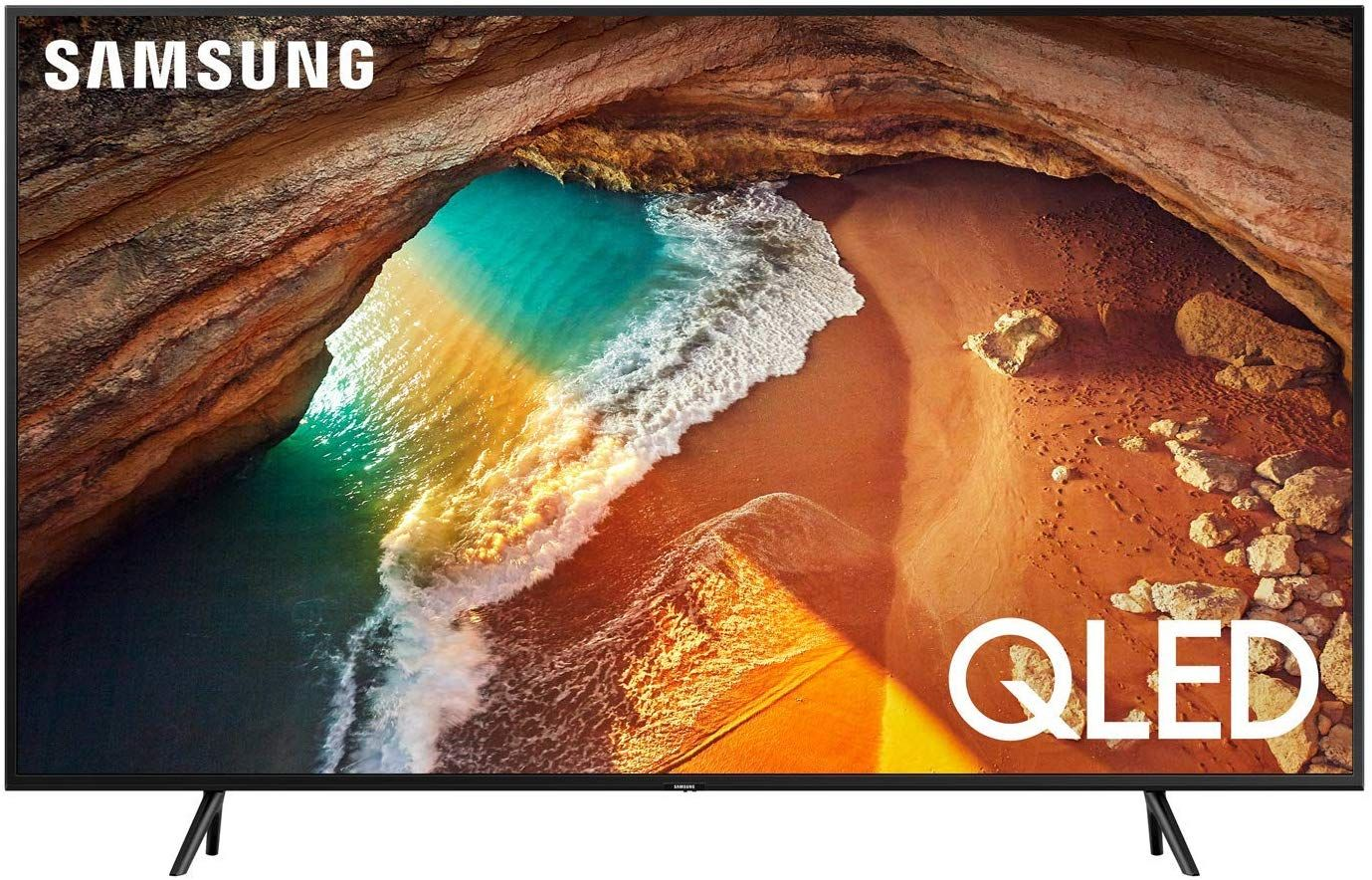 Samsung Flat 49-Inch QLED 4K Q60 Series Ultra HD Smart TV with HDR and Alexa Compatibility (2019 Model)