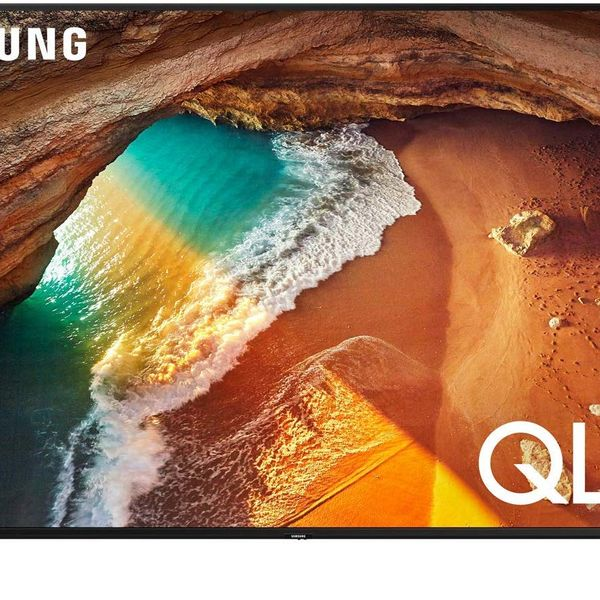 Samsung Flat 49-Inch QLED 4K Q60 Series Ultra HD Smart TV with HDR and Alexa Compatibility (2019 Model) on a stand . 33 Things on Sale You'll Actually Want to Buy: From Adidas to Le Creuset - The Strategist