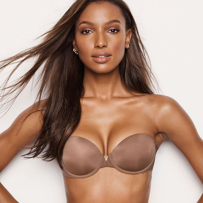 ea3922a8364 There's nothing worse than spending money on a strapless bra that slides  down all day or cuts into your skin. Especially if you have a larger cup  size, ...