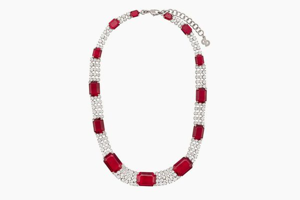 Christian Dior x Susan Caplan 1990's Archive Embellished Necklace