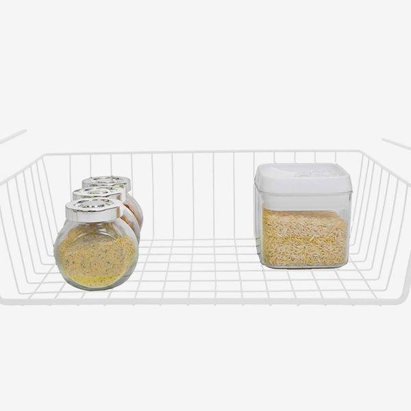 Smart Design Undershelf Storage Basket, Medium