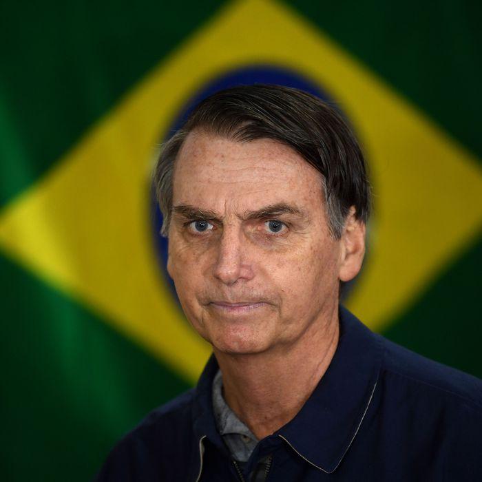 Jair Bolsonaro Wins First Round of Brazil Elections