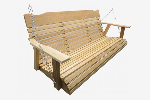 Kilmer Creek 5-Foot Natural Cedar Porch Swing