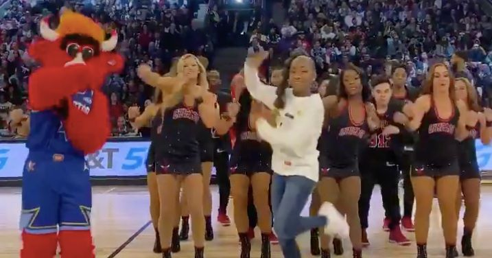 Jalaiah Harmon, Creator of the Renegade, Brings Her Moves to NBA All-Star Game