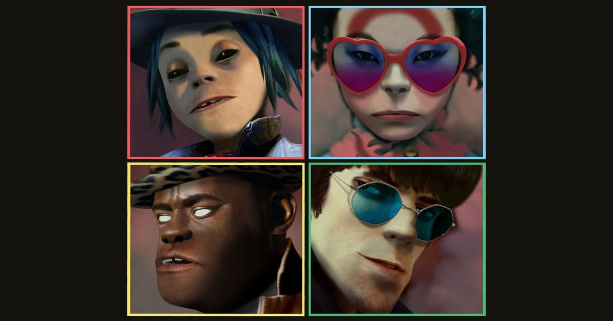 Everything You Need to Know About the New Gorillaz Album