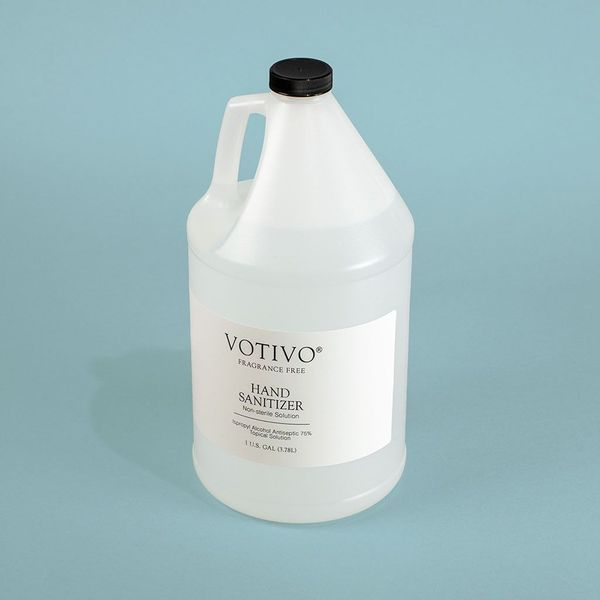 Votivo Fragrance Free Liquid Hand Sanitizer