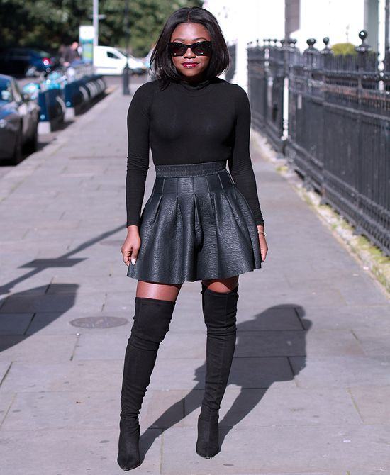 c9f14b9656 11 Ways to Wear Skirts With Boots This Winter -- The Cut