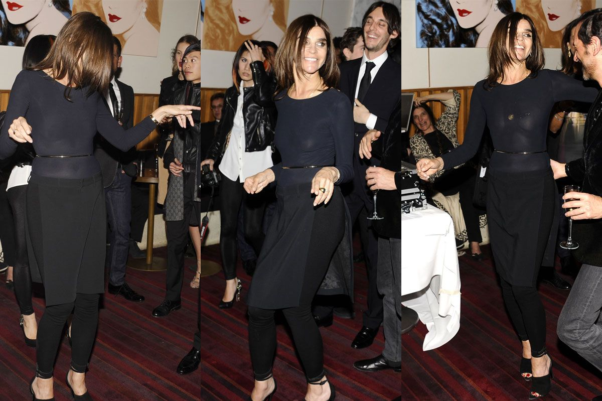 Roitfeld carine a wardrobe retrospective recommendations to wear for autumn in 2019