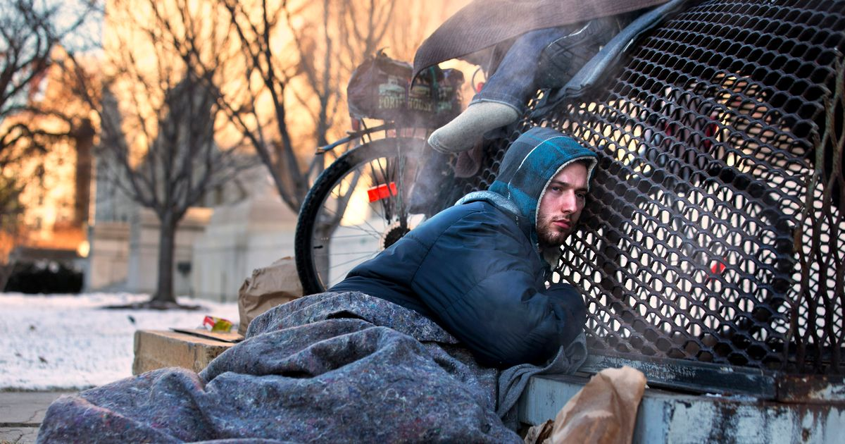 homeless in new york city winter