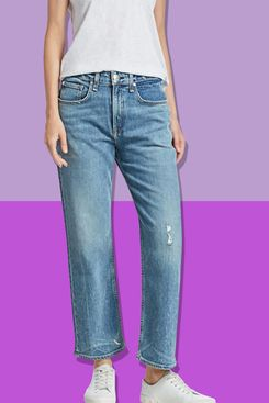 Rag & Bone Maya High-Rise Ankle Crop Jeans