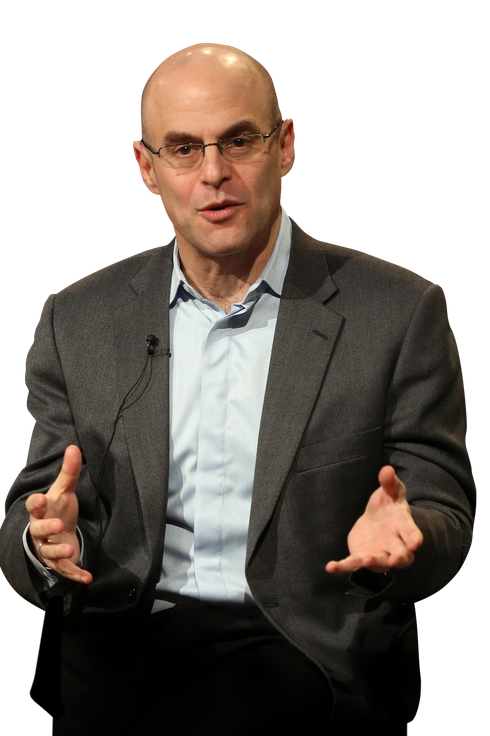 "Host Peter Sagal of ""Constitution USA"" speaks onstage during the PBS portion of the 2013 Winter Television Critics Association Press Tour at the Langham Huntington Hotel & Spa on January 14, 2013 in Pasadena, California."
