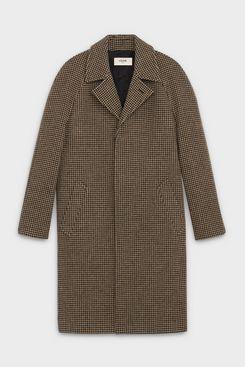 Celine Mac Coat in Houndstooth