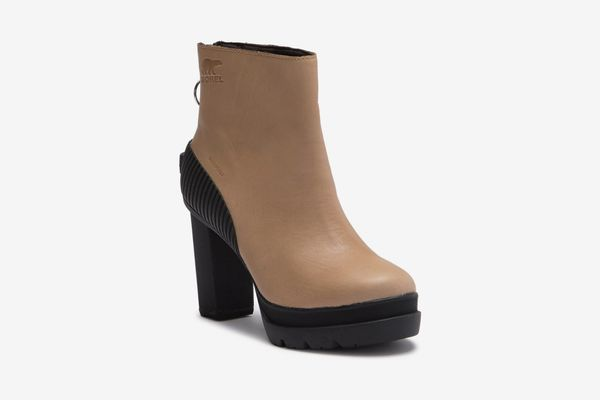 Sorel Dacie Waterproof Leather Bootie