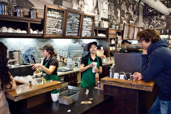 New York City Starbucks Baristas Are the Usain Bolts of Customer Service