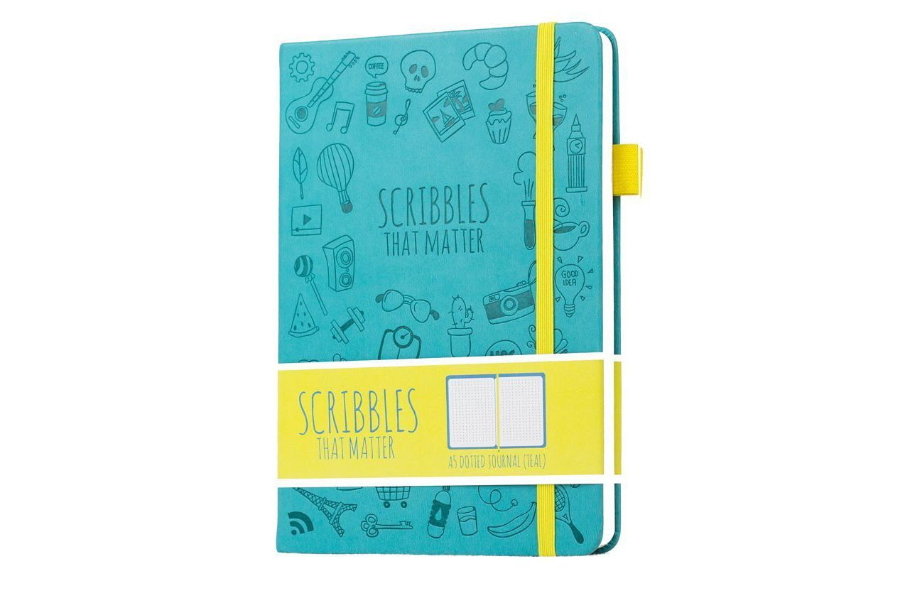 Scribbles That Matter Dotted Journal Notebook