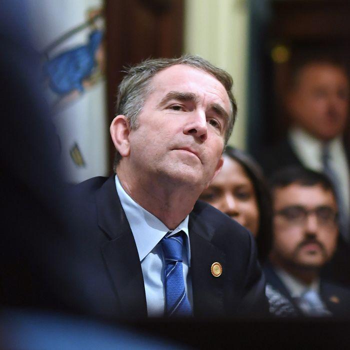 Ralph Northam, Democratic governor of Virginia.