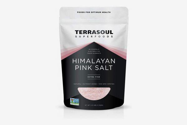 Terrasoul Superfoods Himalayan Pink Salt, 2.5 Pounds (Extra-Fine)