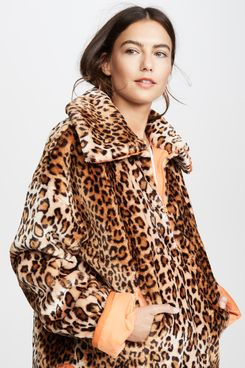 j.o.a. leopard half zip jacket - strategist best leopard jacket