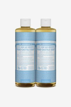 Dr. Bronner's Pure-Castile Liquid Soap Uscented