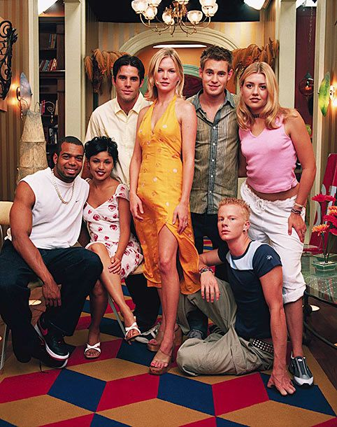 "Cast of ""The Real World New Orleans"" --- Image by ? Len Irish/Corbis"