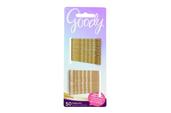 Goody Bobby Pins in Gold