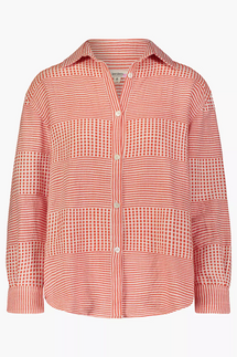Lemlem Semira Men's Style Button-Up Shirt