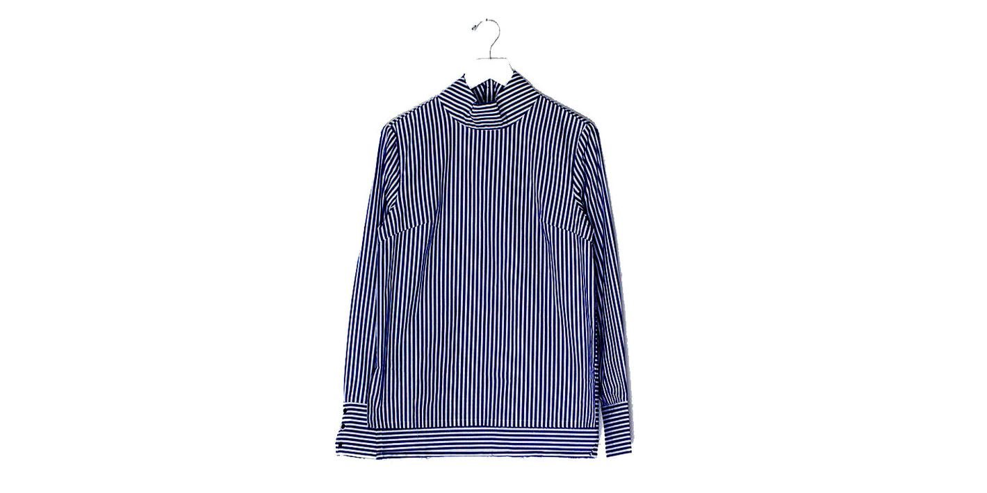 Fashion Trends 2017: 8 Blue-and-White Striped Shirts