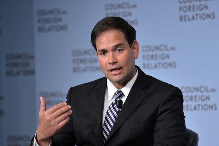 US Senator Marco Rubio, R-FL.
