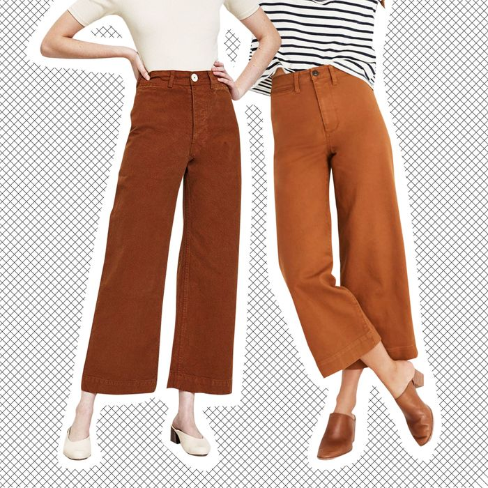 Left Jesse Kamm Sailor Pants Right Madewell Emmett Photo Need Supply Co
