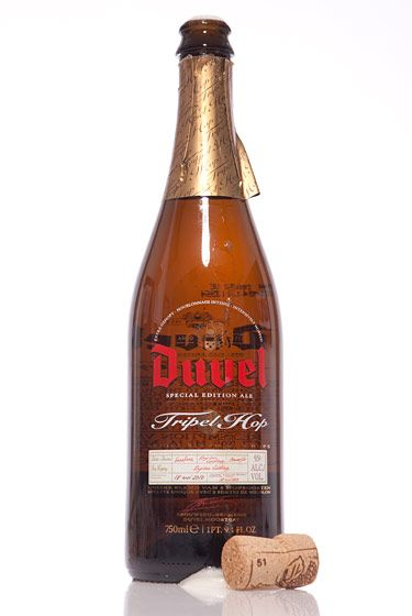 "Brouwerij Duvel Moortgat (Belgium)<br>$21.99 for 25.4 oz. <br><strong>Type:</strong> Belgian IPA<br><strong>Tasting notes:</strong> ""The creamiest beer I've ever had in my life."" <br>—Richard and John Zawisny, owners, Eagle Provisions<br> <br>"