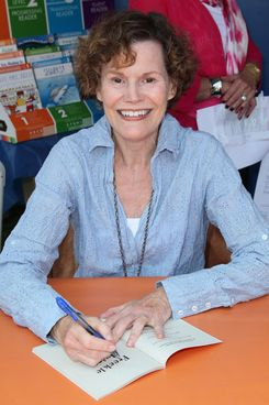 LOS ANGELES, CA - APRIL 22:  Author Judy Blume attends the 17th Annual Los Angeles Times Festival of Books - Day 2 at USC on April 22, 2012 in Los Angeles, California.  (Photo by David Livingston/Getty Images)