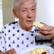 Won't You Watch Sir Ian McKellen Make Some Lovely Scrambled Eggs?