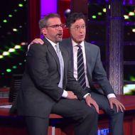 Stephen Colbert and Steve
