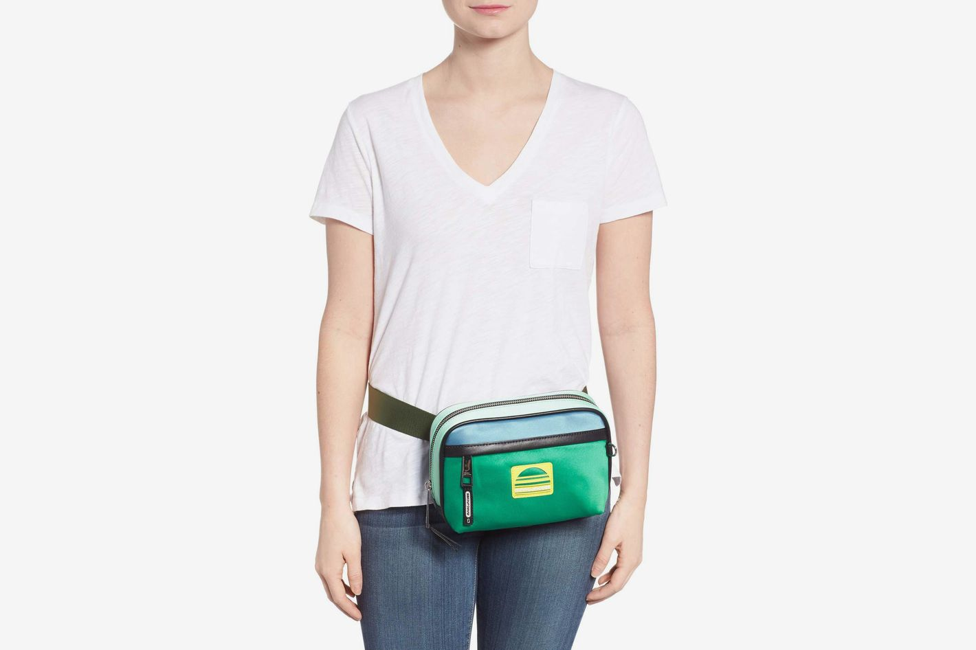 Marc Jacobs Sport Colorblock Belt Bag