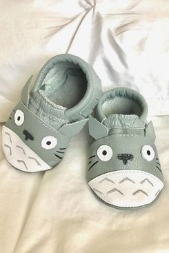 Totoro-inspired Moccasins