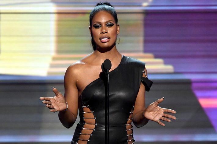 Laverne Cox Told Everyone to Google This Transgender Student at the Grammys class=