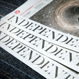 BRITAIN-MEDIA-INTERNET-INDEPENDENT