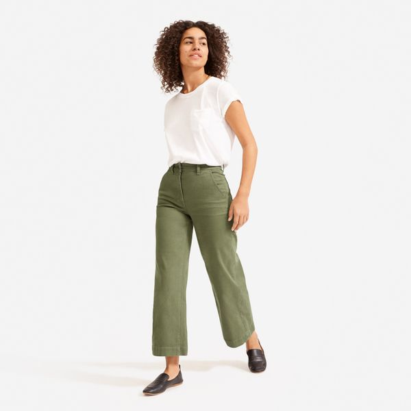 The Wide-Leg Crop Pant