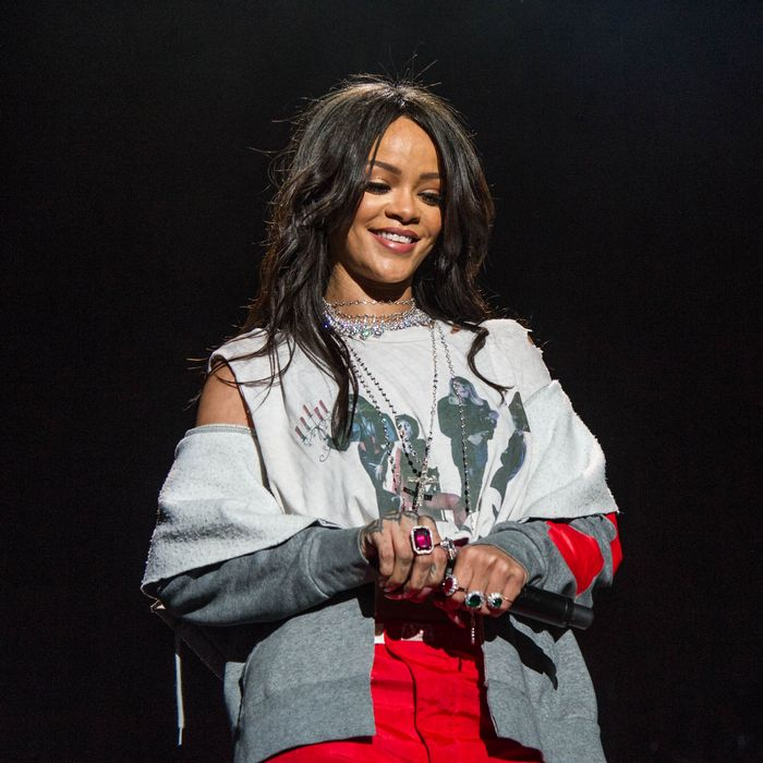 Rihanna has all the munchies.