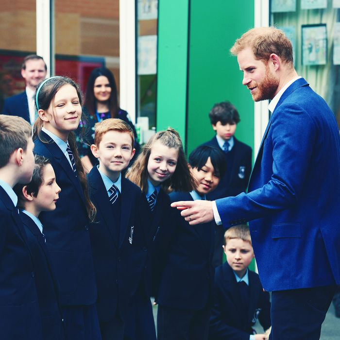 Prince Harry Insulted By 4-Year-Old