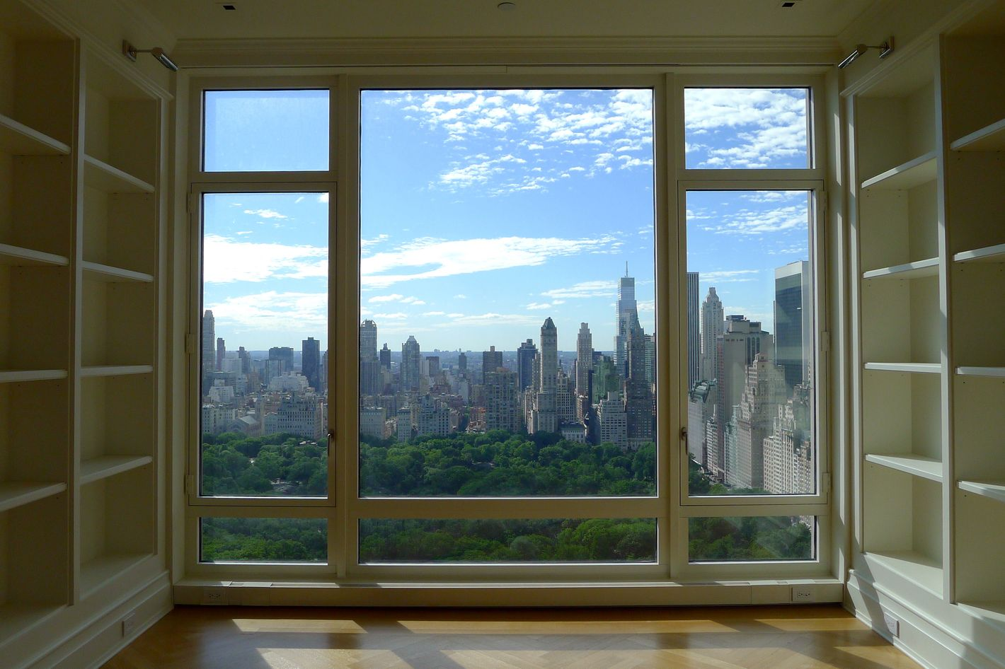 Unveiled the 85 million apartment at 15 central park for Central park apartment new york