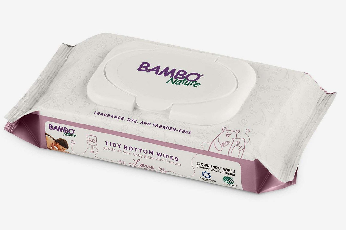Bambo Nature Tidy Bottoms Baby Wipes