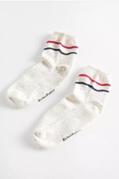 Richer Poorer Waved And Confused Sock