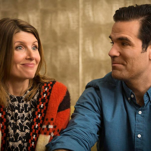 Sharon Horgan and Rob Delaney on Catastrophe.