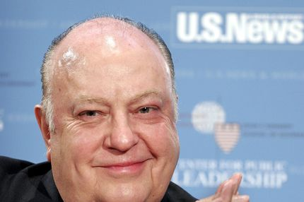 "WASHINGTON - OCTOBER 25: Chairman and CEO of the Fox News Network Roger Ailes participates in the ""America's Best Leaders: How do they lead? Where are they taking us?"" National Issues Briefing hosted by U.S. News and World Report October 25, 2005 at the National Press Club in Washington, DC. The talk was held in collaboration with the Center for Public Leadership at Harvard University's John F. Kennedy School of Government.  (Photo by Chip Somodevilla/Getty Images for U.S. News and World Report)"