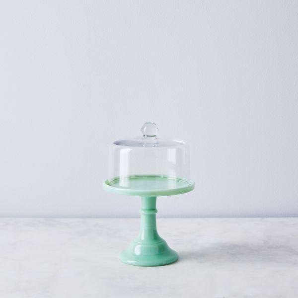 Moser Glass Cake Stand