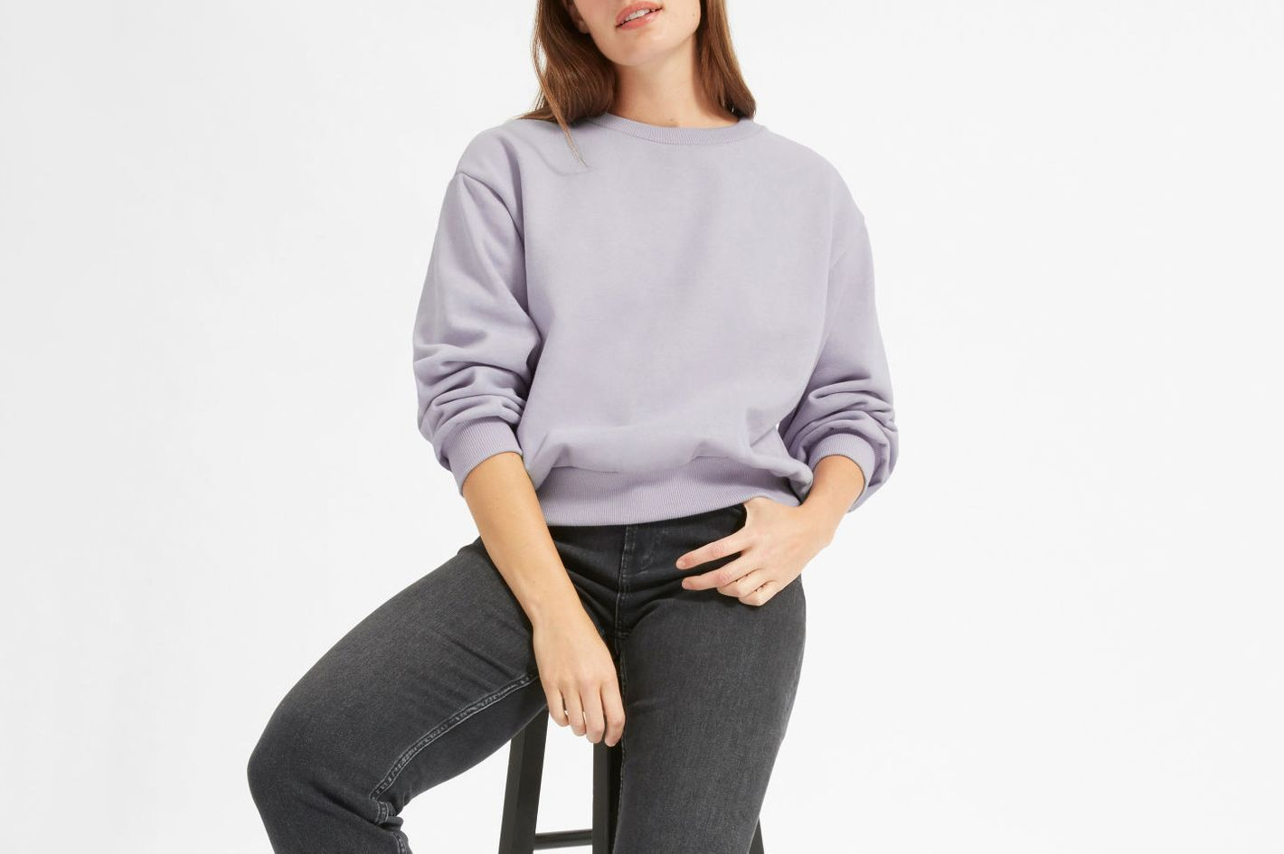 Everlane Oversize Fleece Crew