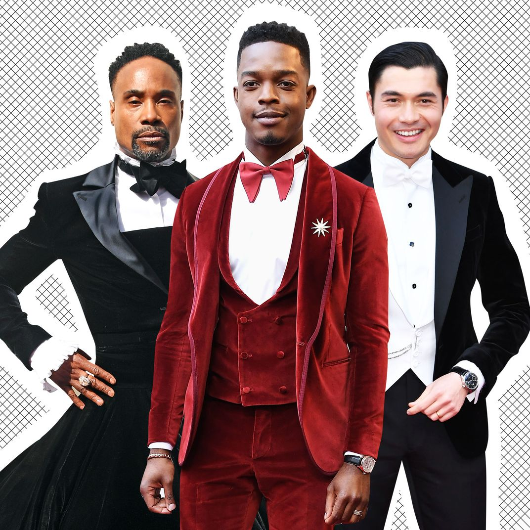 Billy Porter, Stephan James, Henry Golding.