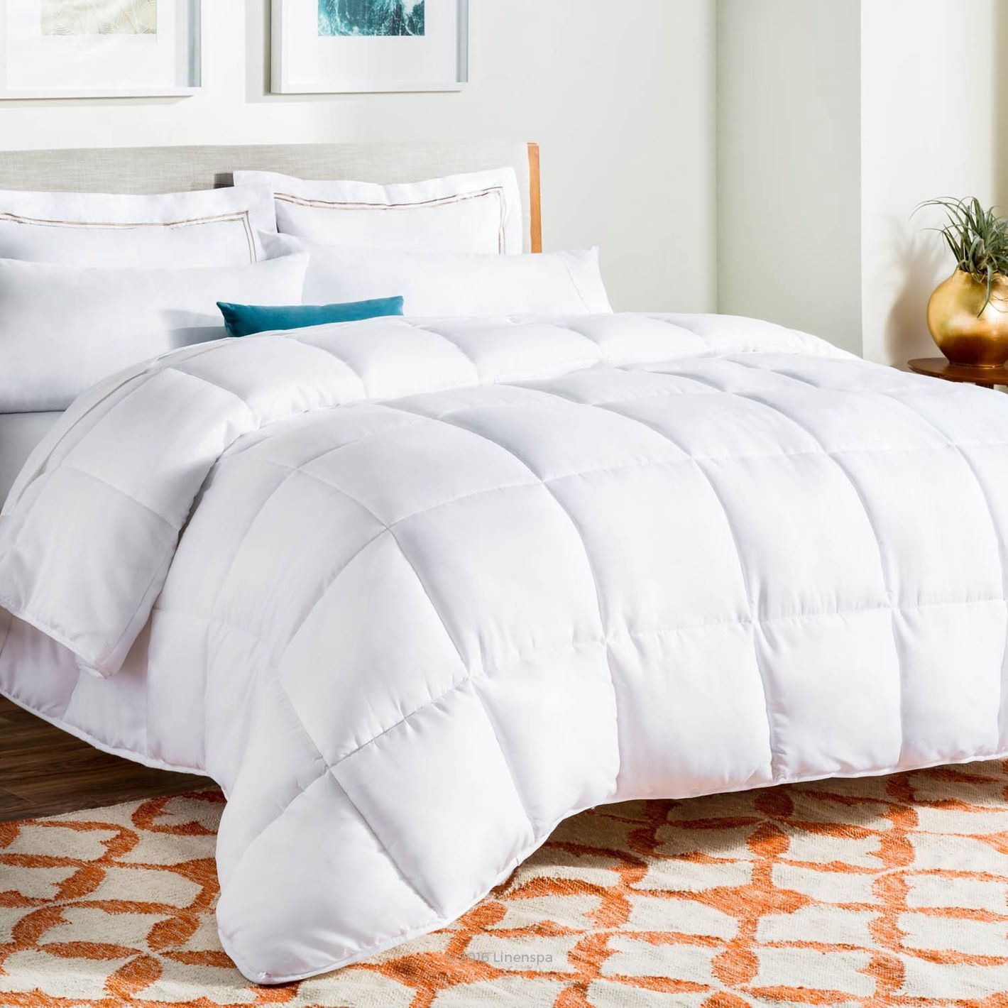 9 Best Down & Alternative Comforters 2018 : difference between duvet and quilt - Adamdwight.com